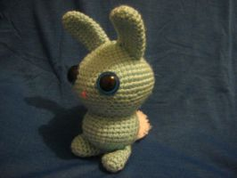 amigurumi bunny: depressed by undeadamy