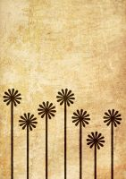 Flowers Poster Grunge by UJz