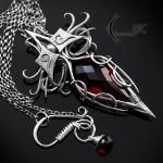 XYTRINDIELL - silver and red quartz by LUNARIEEN