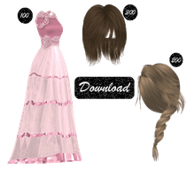[MMD] 100, 200 AND 300 WATCHER'S GIFT [+DL] by Sims3Ripper