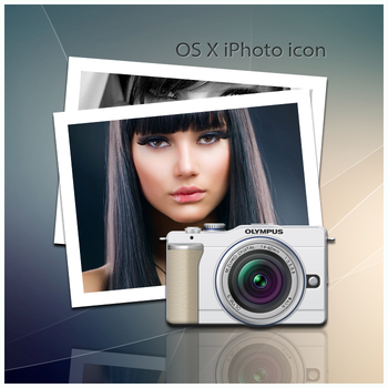 OS X iPhoto icon by D1m22