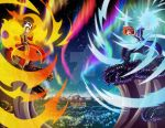 Magic Battle - Commission by Genso-x