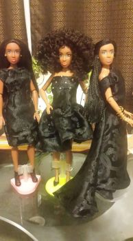Three black gowns by missmjwilson