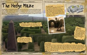 Labyrinth Guide - Hedge Maze by Chaotica-I