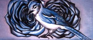 Blue birds, blue roses... by kaldengel