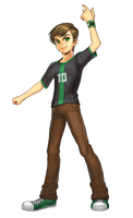 Ben 10 Character Art by FusionFallCreations