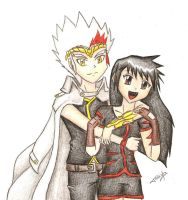 COM: Ryuga and Shyna by Tolina