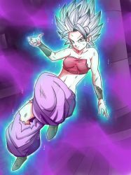 Commission: Caulifla Perfected Ultra Instinct2 by ChigoSenpai