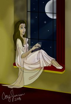 Belle By a Window by Cor104