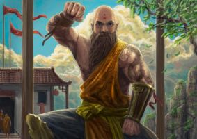 The Monk by Entar0178