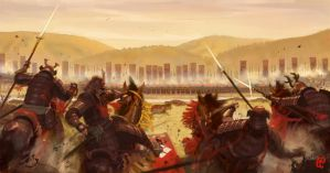 Battle of Nagashino by Changinghand