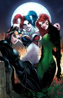 Gotham Sirens New52 by sorah-suhng