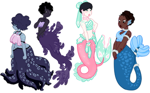 Mermaid Adopts [CLOSED] by Death2Eden