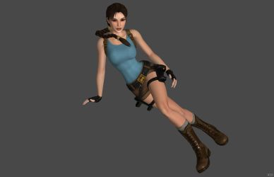'Tomb Raider: DoX' Lara Croft 2.0 XPS ONLY!!! by lezisell