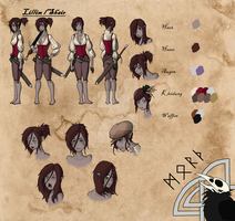 Lillim l'shair Csheet by Morth-the-Raven