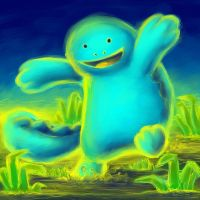 Quagsire Playing in the Mud