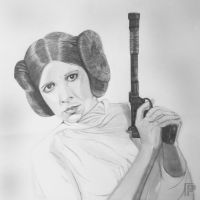 Princess Leia | Star Wars by MikeManuelArt