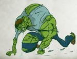 The Incredible Hulk Dream by LevelInfinitum