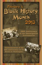 Black History Month Cover 2 by Mazzy12345