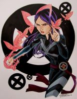 Psylocke by KidNotorious