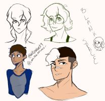 Voltron Doodles  by Ailizerbee08