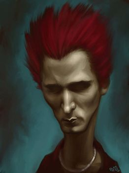 Matt Bellamy by Nils-Art