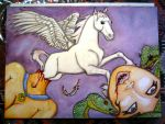 The Birth of Pegasus by Sageous