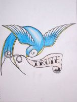 Truth Tattoo by muses-nightmare