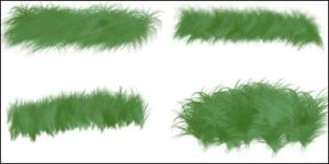 Grass Brushes 1 by Baringa-of-the-Wind