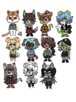 OCTOBER ADOPTS // OPEN by bruisers
