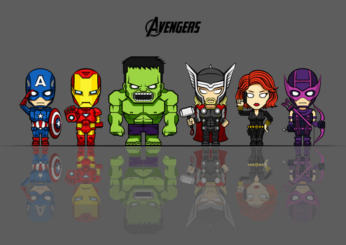 Avengers Vector by rousanilmy