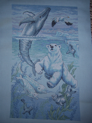 Artic Cross Stitch by SparklyDest