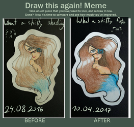 Draw this again! Meme [Eye patch] by KariTheCatX3