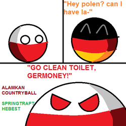 Go Clean Toilet Germany! by SpringTrapthebest