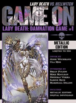 Lady Death Damnation Game Metallic Edition by JwichmanN