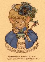 Mademoiselle Mouselle by StressedJenny