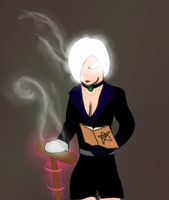 Nightmist finds an Enchanted Croquet Mallet by The-Author-M