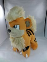 Growlithe Plush by makeshiftwings30