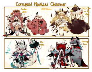 [CLOSED]ADOPT AUCTION348-Corrupted Plushie charmer by Piffi-sisters