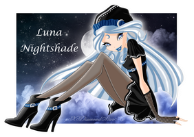 ~ Luna Nightshade ~ by xXDiamondStarXx