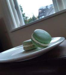 Slytherin Macarons by slytherinmacaron