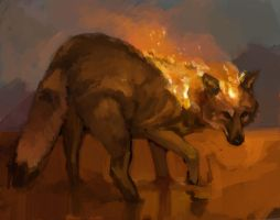 SPINNIN080: Infernal Coywolf by Hamsta180