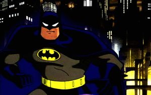 DC AM:Batman the animated series wallpaper by bat123spider