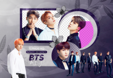PNG PACK: BTS #65 ('FAKE LOVE' Japanese Ver.) by Hallyumi
