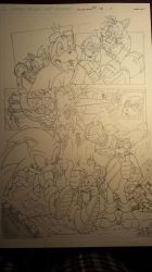 sonic comic origins rotor pencils pg5 by trunks24
