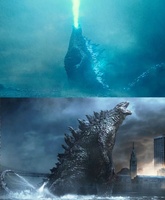 Monsterverse Godzilla Comparisons by KaijuAlpha1point0