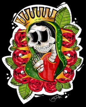 Guadalupe by BeBBaclothing