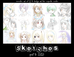 Sketch Dump II: Past to 2010 by slvadrgn