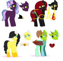 Halloween Auction Adopts (Points only)~ (OPEN) by Royal-Snowflake