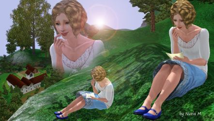 Reading Terry's letter at Father Tree by nmarquez72
